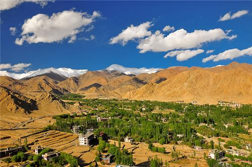 Geography of Leh