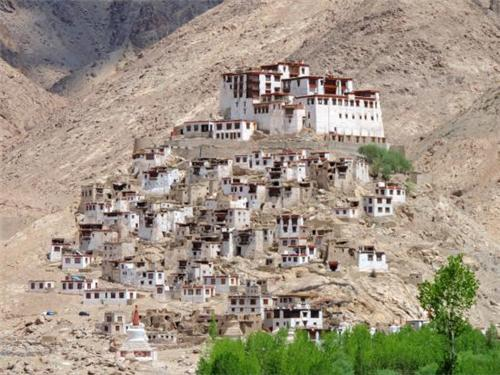 View of Chemre Gompa Monastery
