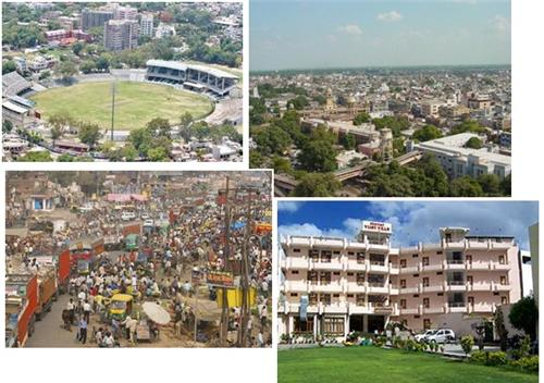 Important localities in Kanpur