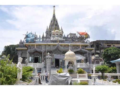 Jain Glass Temple Kanpur scriptures