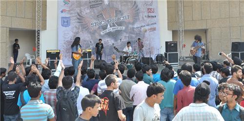Synchronicity rock band festival