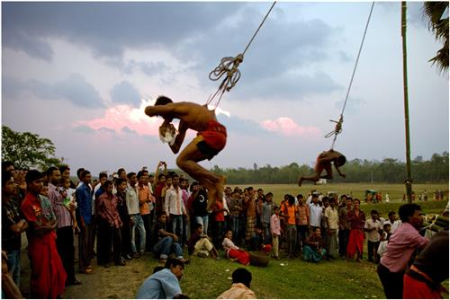 The electrifying charak festival in Bengal