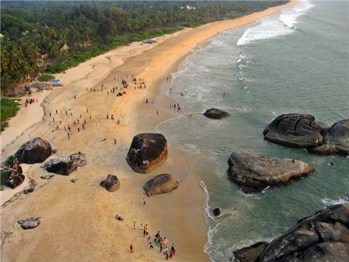 Popular beaches in Karnataka