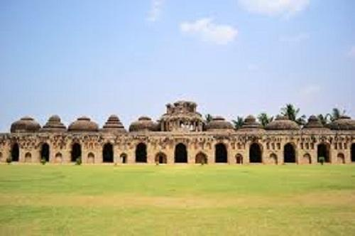 Elephant Stables in Hospet
