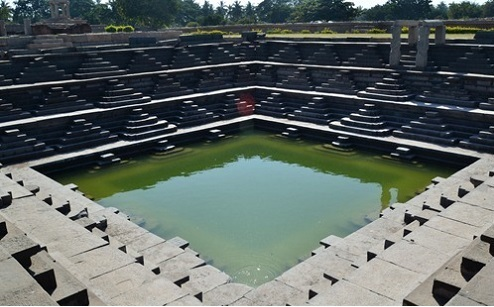 Queen's Bath in Hospet