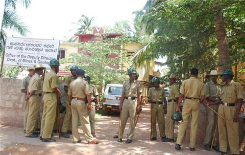 Police and Fire Department of Hospet