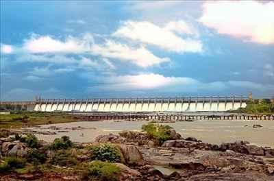 Tungabhadra Dam in Hospet