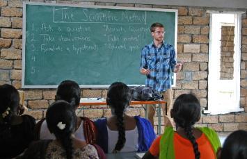 Children studying in IRDF institute