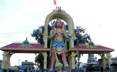 Kote Anjeneya Swami Statue in Tumkur