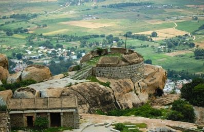 Pavagada Fort in tumkur