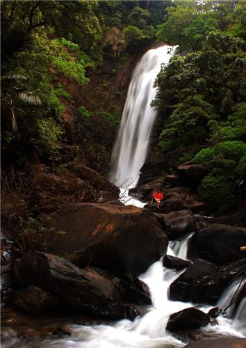 Arasinagundi Falls near Udupi