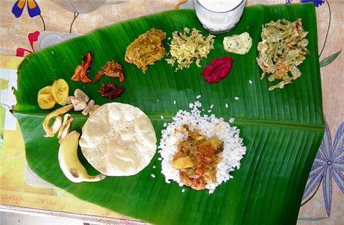 Onamsadhya in Kerala