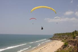 Varkala beach in Kerala