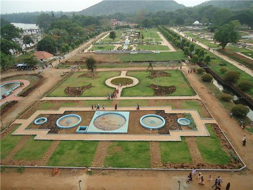 Gardens in Kerala