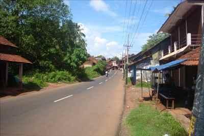 Location of Kanhirode Town in Kerala