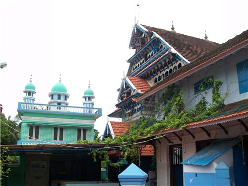 Wonderful Structure of Ponnani Juma Masjid