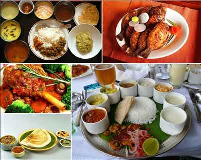 Traditional Food in Kerala