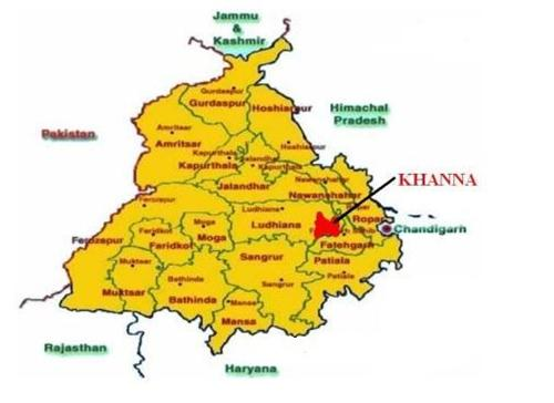 Geography of Khanna