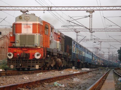Trains Passing Through Khanna