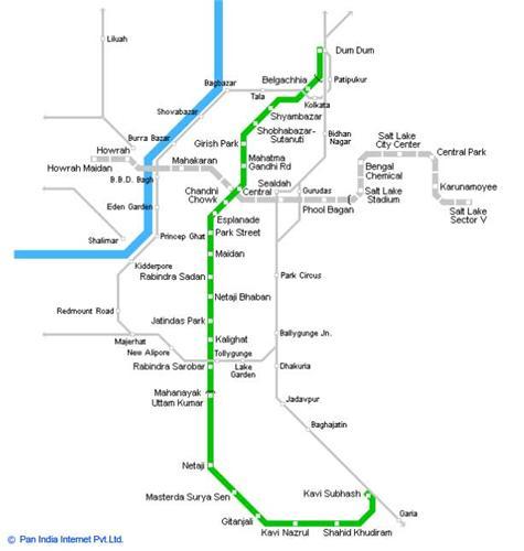 Kolkata Metro Map