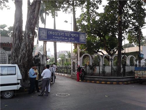 Burning Ghats in Kolkata