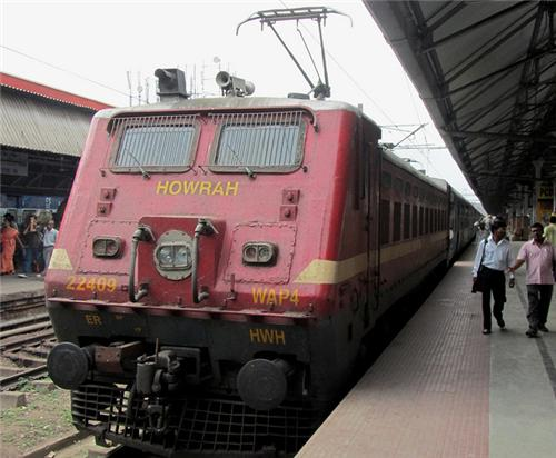 Trains from Howrah