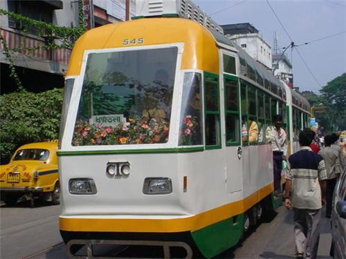 Travel on Tram in Kolkata