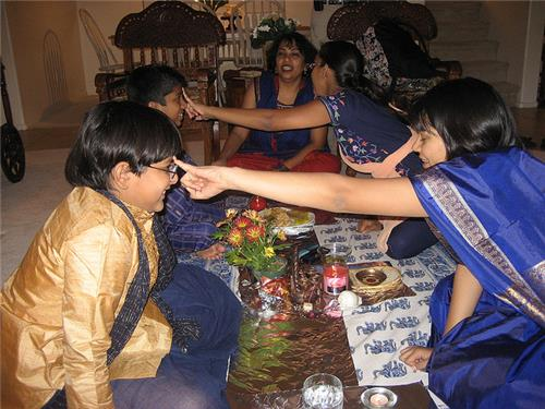 During Bhai Phota   Festival