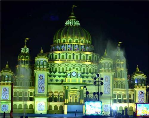 Famous Durga puja pandals in Kolkata