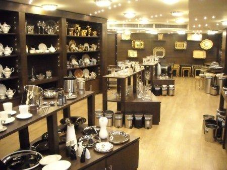 Crockery shop in Kolkata's New Market