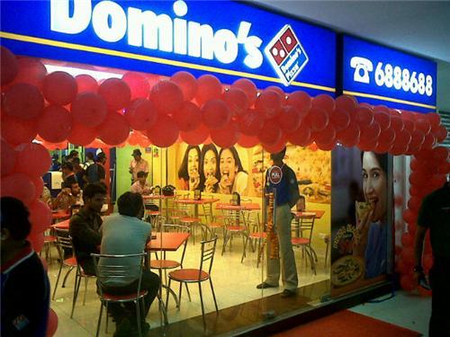 Domino's centers Kolkata