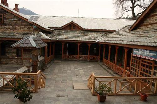 Naggar Castle Kullu Architecture