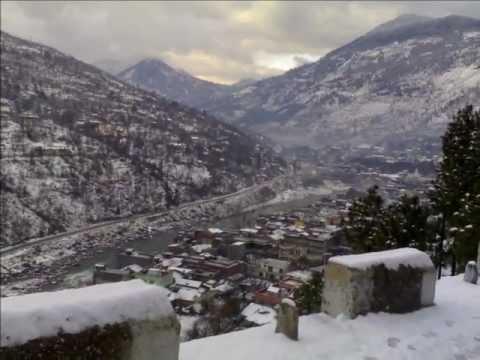 Snowfall in Kullu