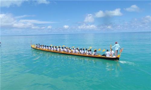 Boat Racing in Minicoy Lakshadweep