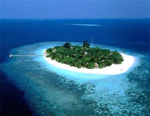 Minicoy Island in Lakshadweep