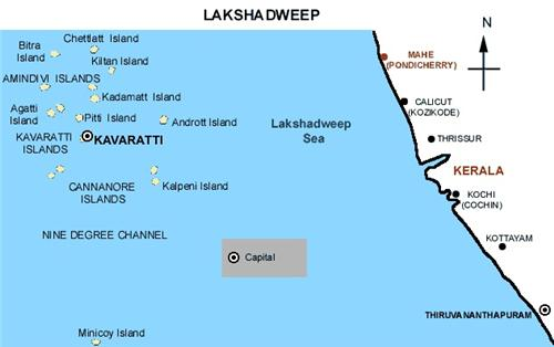 About Lakshadweep Islands