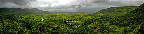 View from Lohagad
