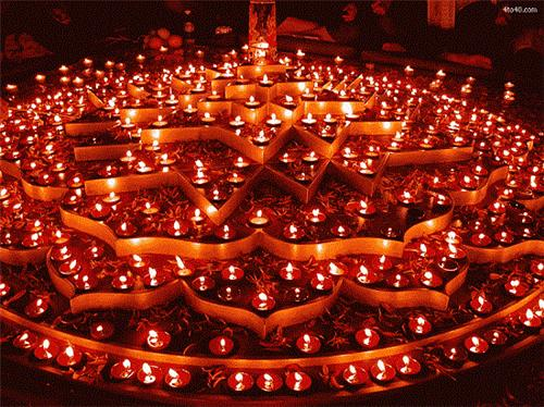 Diwali celebration in Lucknow