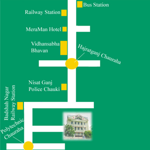 Shekhar Hospital Lucknow Map