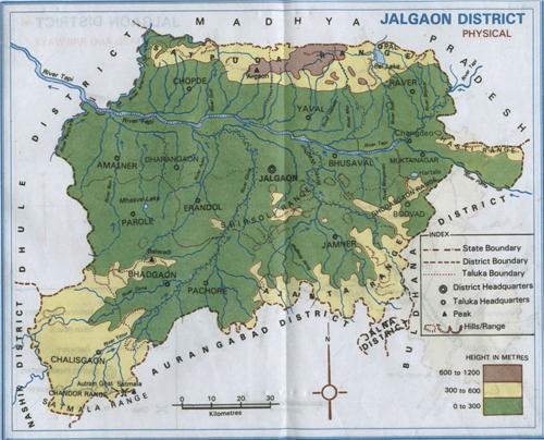 Geography of Jalgaon