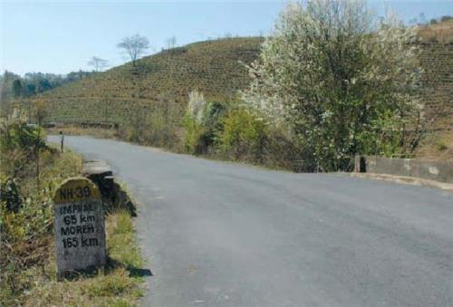 Roads in Manipur