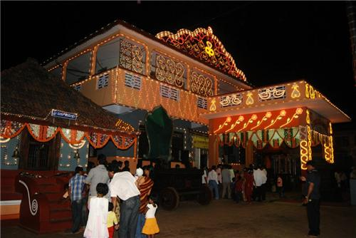 A famous religious place of Hindu