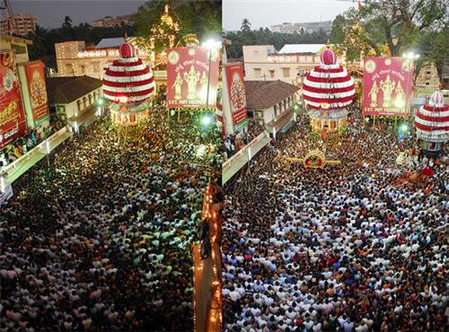 Car festival or Rathotsava in Mangalore