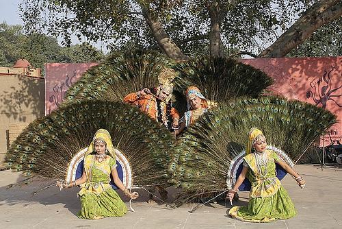 Mayur Dance in Mathura