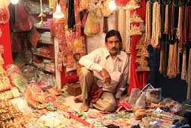 Shopping for Deity Dresses in Mathura
