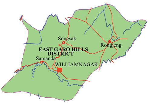 Districts of Meghalaya