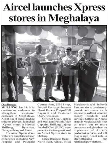Telecommunication in Meghalaya