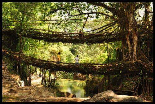 Tourist places in Cherrapunjee