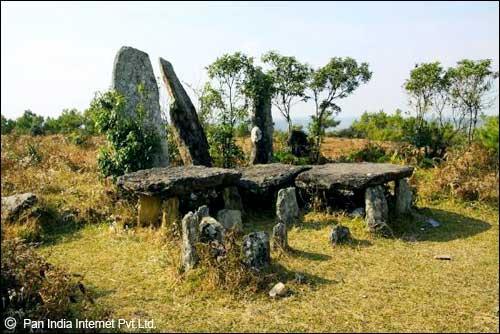 Khasi Monoliths, Cherrapunji