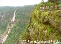 Thangkharang Park in Cherrapunjee, Meghalaya